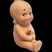 Antique All Bisque Kewpie Doll