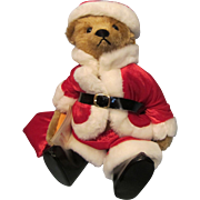 """Steiff 15"""" Strong Museum Santa Bear"""