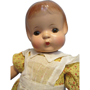 """Vintage 19"""" Effanbee Composition Patsy Ann Doll"""