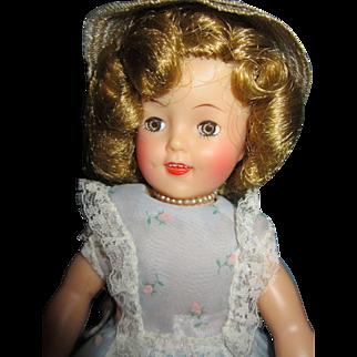 "Vintage Vinyl Ideal 12"" Shirley Temple Doll"