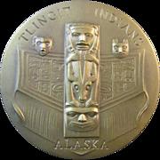 An American Bronze Medal Regarding Alaska