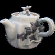 A Tiny Banko Ware Porcelain Teapot