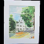 A Watercolor of Washington, D. C.