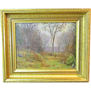 A New England Tonalist Landscape Painting by Harold C. Dunbar (1882-1957)