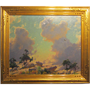 A Cragsmoor New York Painting by Charles C. Curran (1861-1942)