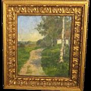 A 20th Century Scandinavian Impressionist Landscape