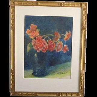 A 20th Century American Impressionist Still Life by Ethel Paxson (1885-1982)