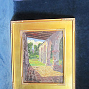 A Hoosier School American Impressionist Landscape with Architectural Views