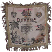 Panama 1940's  Pillow Cover ~ For Mother~ Graphics
