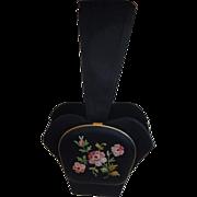 RARE Womens' Handbag Purse Wristlet Mint Tambour Stitching
