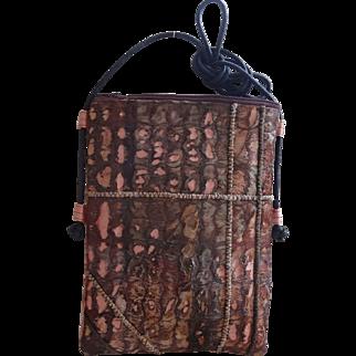 Rust Shoulder Handbag;Handmade Australia