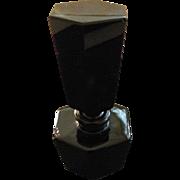 RARE Black Amethyst Perfume Bottle