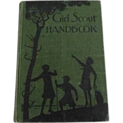 Vintage Girl Scout Handbook 1930 Edition