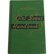 Girl Scout Handbook 1952 Intermediate Program