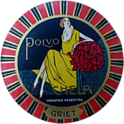 Face Powder Art Deco Polvo Argentina Sealed