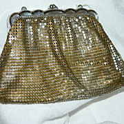 Early Vintage Whiting & Davis Mesh Hand Bag ~ AS IS