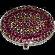 Tarina Tarantino Crystal Compact in Pinks