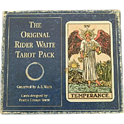 Original Rider Waite Tarot Pack ~ Fortune Telling Cards