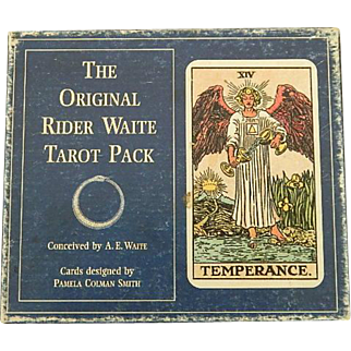 Original Rider Waite Tarot Pack ~ Fortune Telling Cards
