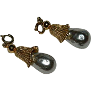Two Sarah Coventry Fashion Parade Charms