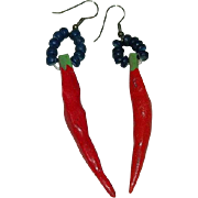 Red Hot Chili Pepper Earrings