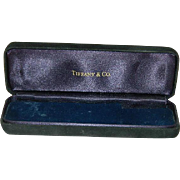Tiffany & Co Blue Velvet Jewelry Presentation Box