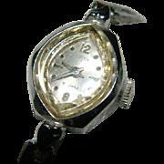 Pretty Garon Ladies 21 Jewel Watch ~ Works Great