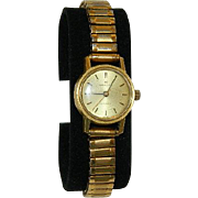 18K Gold Hamilton Automatic Ladies Watch ~ Keeps Perfect Time