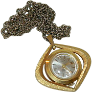 Swiss Made Heritage Contessa Pendant Watch ~ Perfect Condition Works