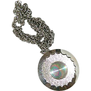Jewelrama Large Pendant on Original Chain