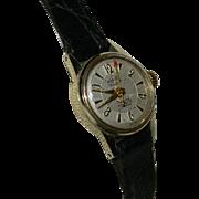 Rarity! Eames Era Enicar Ultrasonic 17 Jewel Automatic Incabloc Ladies Watch