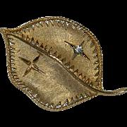 My Favorite Leaf Brooch
