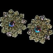 Sparkling Coro Snowflake Earrings