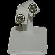 Darling Old Paste Stone Earrings