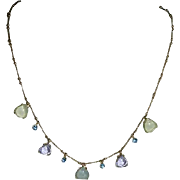 Monet Feminine Charm Necklace