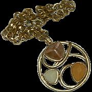 Sarah Coventry Desert Flower Necklace