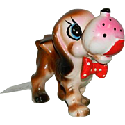 Funny Cute Little Pooch Dog Figurine Japan Import