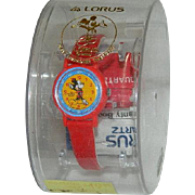 Lorus Mickey Mouse Watch in Original Package