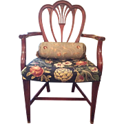 Six Beautiful Shield Back Mahogany Chairs C: 1940
