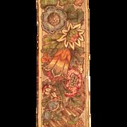 Late 19 th century machine woven Arts ans Crafts long border. Scottish.