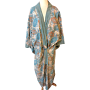 1915. Arty kimono . Bloomsbury cotton influence . English