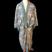 1915. Arty kimono . Bloomsbury cotton influence . English