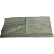 Early 19 th century egg shell blue silk moire.Georgian. 6.5 yard length of unused fabric.