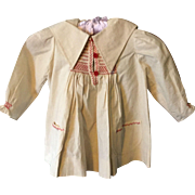 Traditional English farm workers smock . 1970's . Childs. Beautiful smacking.