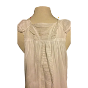 Early 19 th century christening gown , Georgian , circa 1820. English