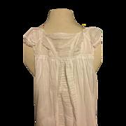 Early 19 th century christening gown , Georgian , circa 1820. English