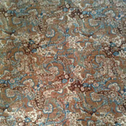 1970's Liberty of London linen union fabric. Teheran.