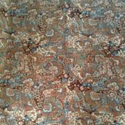 1970's Liberty of London linen union fabric. Teheran.