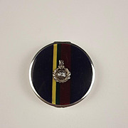 1931 Ladies Silver & Enamel Royal Marines Compact