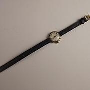 Art Deco 9Ct Gold Ladies Octagonal Watch